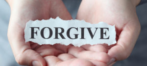 the word forgive