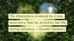 quote from Oswald Chambers