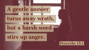 proverbs 15:1 gentle answer